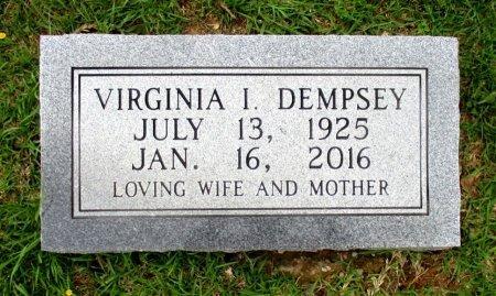 DEMPSEY, VIRGINIA I. - Cass County, Texas   VIRGINIA I. DEMPSEY - Texas Gravestone Photos