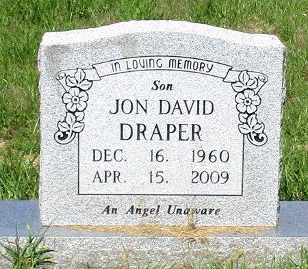 DRAPER, JON DAVID - Cass County, Texas   JON DAVID DRAPER - Texas Gravestone Photos