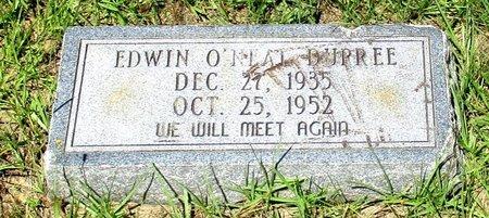 DUPREE, EDWIN O'NEAL (2ND) - Cass County, Texas | EDWIN O'NEAL (2ND) DUPREE - Texas Gravestone Photos