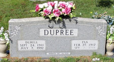 DUPREE, DURELL - Cass County, Texas | DURELL DUPREE - Texas Gravestone Photos