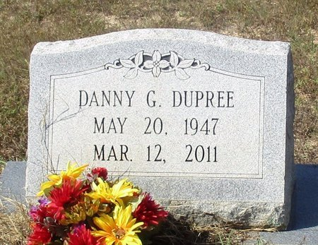 DUPREE, DANNY G. - Cass County, Texas | DANNY G. DUPREE - Texas Gravestone Photos