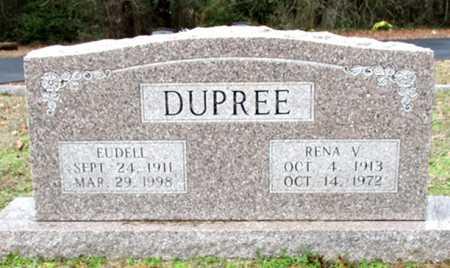 DUPREE, RENA V. - Cass County, Texas | RENA V. DUPREE - Texas Gravestone Photos