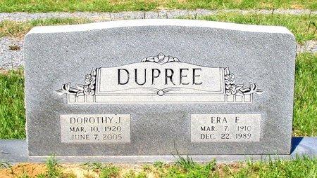 DUPREE, ERA E. - Cass County, Texas | ERA E. DUPREE - Texas Gravestone Photos