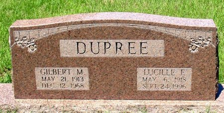 DUPREE, GILBERT M. - Cass County, Texas | GILBERT M. DUPREE - Texas Gravestone Photos