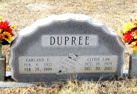 DUPREE, GARLAND E. - Cass County, Texas | GARLAND E. DUPREE - Texas Gravestone Photos