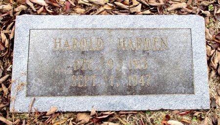 DUPREE, HAROLD HARDEN - Cass County, Texas   HAROLD HARDEN DUPREE - Texas Gravestone Photos