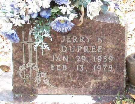 DUPREE, JERRY N. - Cass County, Texas | JERRY N. DUPREE - Texas Gravestone Photos