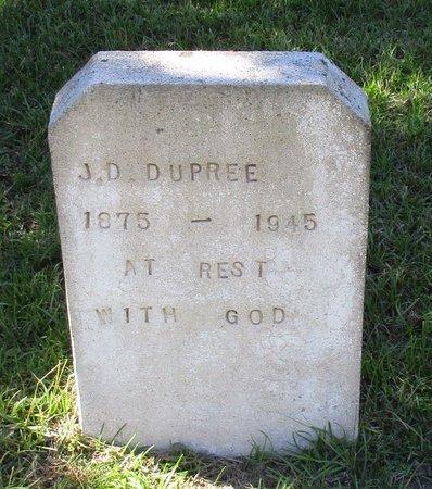 DUPREE, J. D. - Cass County, Texas | J. D. DUPREE - Texas Gravestone Photos