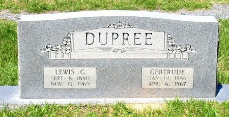 DUPREE, GERTRUDE - Cass County, Texas | GERTRUDE DUPREE - Texas Gravestone Photos