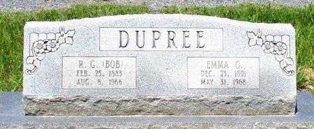 DUPREE, EMMA O. - Cass County, Texas | EMMA O. DUPREE - Texas Gravestone Photos