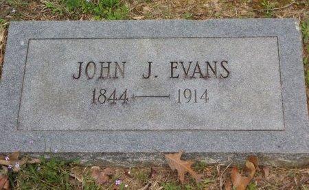 EVANS, JOHN J - Cass County, Texas | JOHN J EVANS - Texas Gravestone Photos