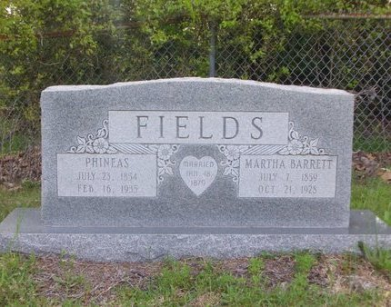 FIELDS, PHINEAS - Cass County, Texas | PHINEAS FIELDS - Texas Gravestone Photos
