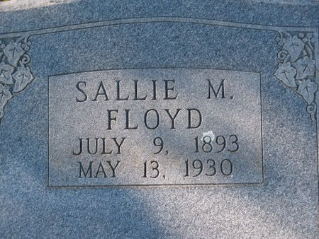 FLOYD, SALLIE M - Cass County, Texas | SALLIE M FLOYD - Texas Gravestone Photos