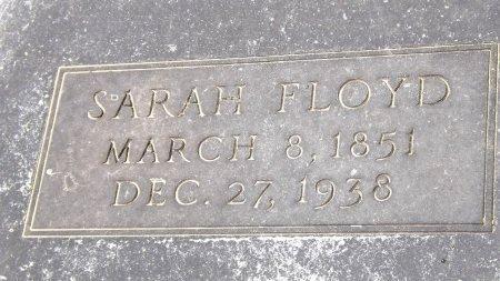 FLOYD, SARAH (CLOSEUP) - Cass County, Texas | SARAH (CLOSEUP) FLOYD - Texas Gravestone Photos