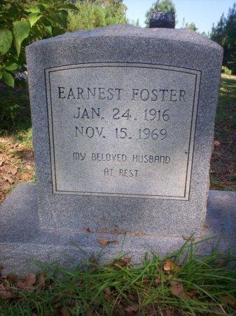 FOSTER, EARNEST - Cass County, Texas | EARNEST FOSTER - Texas Gravestone Photos