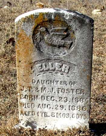 FOSTER, ELLER - Cass County, Texas | ELLER FOSTER - Texas Gravestone Photos