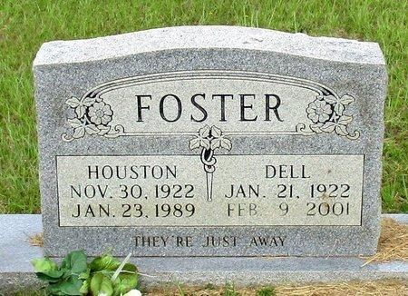 FOSTER, HOUSTON - Cass County, Texas | HOUSTON FOSTER - Texas Gravestone Photos