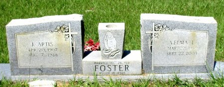 FOSTER, J. ARTIS - Cass County, Texas | J. ARTIS FOSTER - Texas Gravestone Photos
