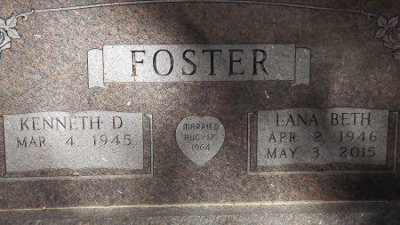 FOSTER, LANA BETH (CLOSEUP) - Cass County, Texas | LANA BETH (CLOSEUP) FOSTER - Texas Gravestone Photos