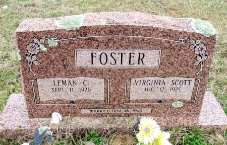 FOSTER, LEMAN CONNOR  - Cass County, Texas | LEMAN CONNOR  FOSTER - Texas Gravestone Photos