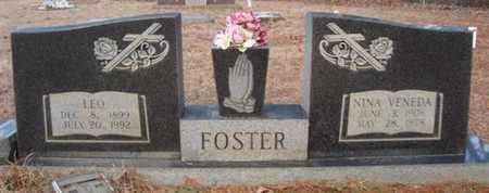 FOSTER, NINA VENEDA - Cass County, Texas | NINA VENEDA FOSTER - Texas Gravestone Photos