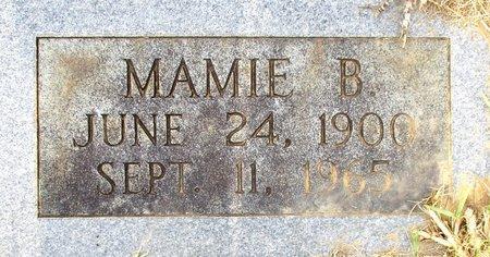 FOSTER, MAMIE B.  (CLOSE UP) - Cass County, Texas | MAMIE B.  (CLOSE UP) FOSTER - Texas Gravestone Photos