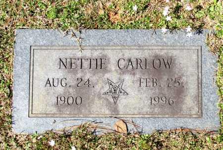CARLOW GRANBERRY, NETTIE - Cass County, Texas | NETTIE CARLOW GRANBERRY - Texas Gravestone Photos
