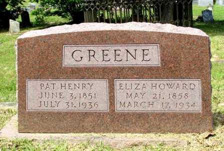 GREENE, ELIZA  - Cass County, Texas   ELIZA  GREENE - Texas Gravestone Photos