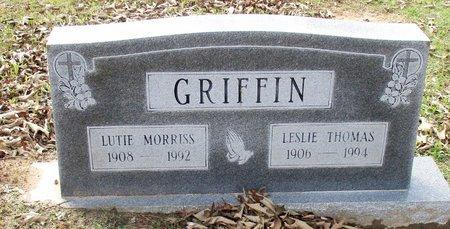 GRIFFIN, LUTIE - Cass County, Texas | LUTIE GRIFFIN - Texas Gravestone Photos
