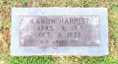 HARRIST, AARON  - Cass County, Texas | AARON  HARRIST - Texas Gravestone Photos