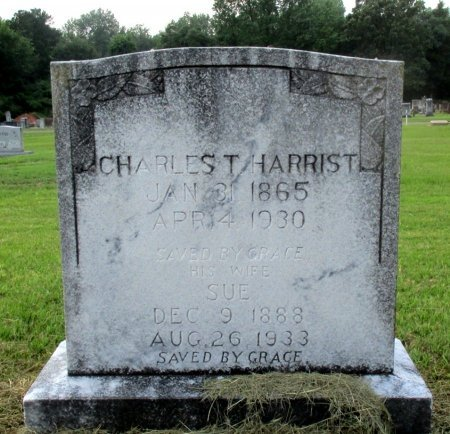HARRIST, SUE   - Cass County, Texas   SUE   HARRIST - Texas Gravestone Photos