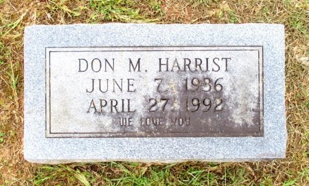 HARRIST, DON M.  - Cass County, Texas | DON M.  HARRIST - Texas Gravestone Photos