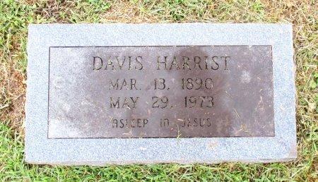 HARRIST, DAVIS   - Cass County, Texas | DAVIS   HARRIST - Texas Gravestone Photos
