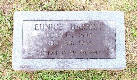 HARRIST, EUNICE  - Cass County, Texas   EUNICE  HARRIST - Texas Gravestone Photos