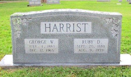 HARRIST, RUBY D. - Cass County, Texas | RUBY D. HARRIST - Texas Gravestone Photos