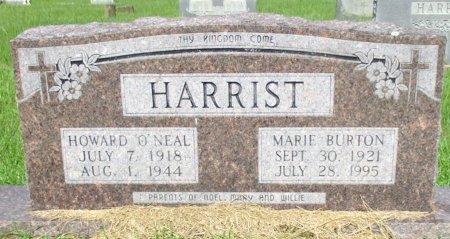 HARRIST, HOWARD O'NEAL - Cass County, Texas | HOWARD O'NEAL HARRIST - Texas Gravestone Photos