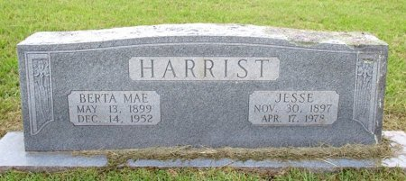 HARRIST, BERTA MAE  - Cass County, Texas | BERTA MAE  HARRIST - Texas Gravestone Photos