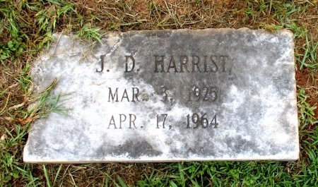 HARRIST, J. D.  - Cass County, Texas | J. D.  HARRIST - Texas Gravestone Photos