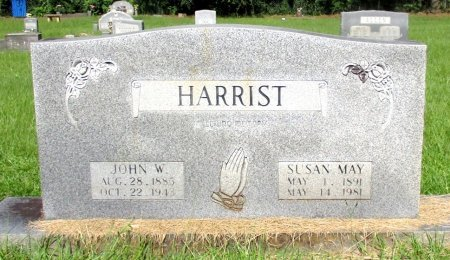 HARRIST, JOHN W. - Cass County, Texas   JOHN W. HARRIST - Texas Gravestone Photos