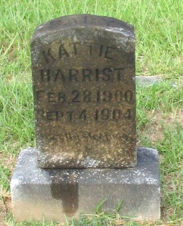 HARRIST, KATTIE - Cass County, Texas   KATTIE HARRIST - Texas Gravestone Photos