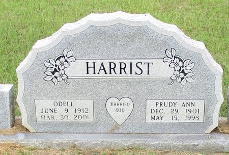 HARRIST, PRUDY ANN - Cass County, Texas | PRUDY ANN HARRIST - Texas Gravestone Photos