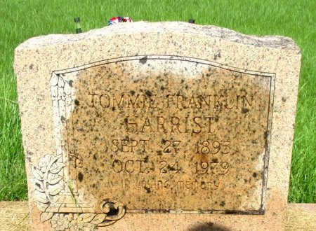 HARRIST, THOMAS FRANKLIN - Cass County, Texas | THOMAS FRANKLIN HARRIST - Texas Gravestone Photos