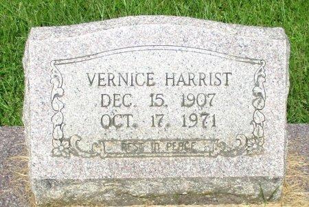 HARRIST, VERNICE - Cass County, Texas   VERNICE HARRIST - Texas Gravestone Photos