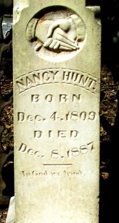 HUNT, NANCY (CLOSE UP) - Cass County, Texas | NANCY (CLOSE UP) HUNT - Texas Gravestone Photos