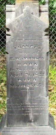 JOHNSON, FRANCES - Cass County, Texas | FRANCES JOHNSON - Texas Gravestone Photos
