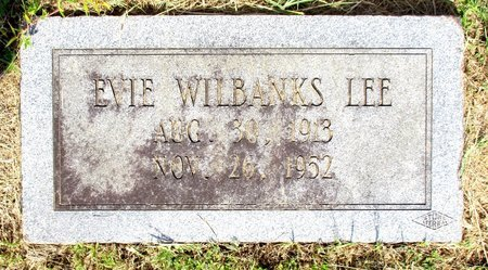 LEE, EVIE - Cass County, Texas | EVIE LEE - Texas Gravestone Photos
