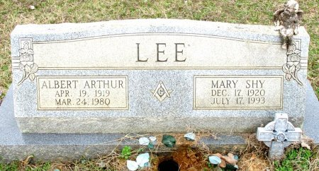 LEE, ALBERT ARTHUR  - Cass County, Texas | ALBERT ARTHUR  LEE - Texas Gravestone Photos