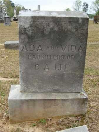 LEE, VIDA - Cass County, Texas | VIDA LEE - Texas Gravestone Photos