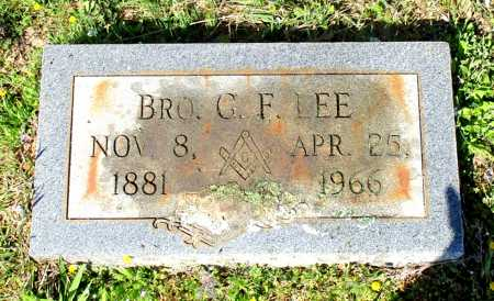 LEE, G. F., BRO. - Cass County, Texas | G. F., BRO. LEE - Texas Gravestone Photos