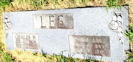 LEE, RUBY LEE - Cass County, Texas | RUBY LEE LEE - Texas Gravestone Photos